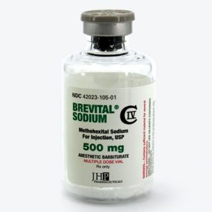 BREVITAL SODIUM (METHOHEXITAL) 500MG Name: Brevital Sodium Dosage: 500mg Package: 1 Vial